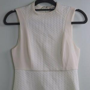 White Sleeveless BCBGeneration Dress